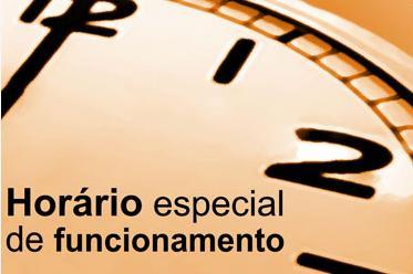 Linhas com programação especial para domingo, dia 10