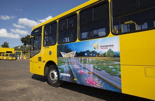 Transporte coletivo em Guarapuava terá mais 11 ônibus novos