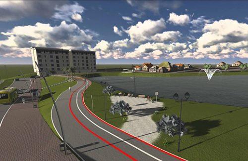 Criação de linha UTFPR e Cidade dos Lagos